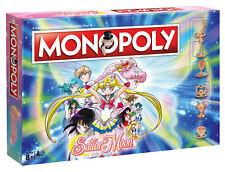 Monopoly Sailor Moon Edition Manga Spiel Gesellschaftsspiel Brettspiel deutsch