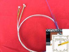 Genuine Dominant Violin String set with Gold label E LOOP  End 4/4 size