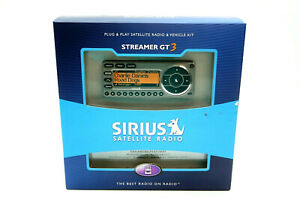 New SIRIUS SATELLITE RADIO Streamer GT3 with Vehicle Kit model ST3-TK1B