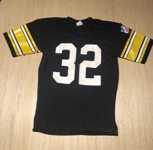 Vintage 80s Rawlings Franco Harris Pittsburgh Steelers NFL Football Jersey S