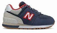 New Balance Infant 574 Sport Pack Shoes Blue with Grey