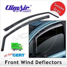 CLIMAIR Car Wind Deflectors VW Volkswagen Transporter T6 2015 onwards FRONT Pair
