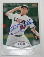 Kevin Gausman signed 2011 Topps USA Rookie card auto