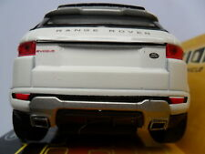 RANGE ROVER EVOQUE DIECAST CAR WELLY 1/38 NEW BOXED OPENING DOORS PULL BACK & GO
