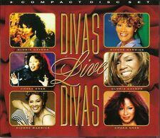 DIVAS LIVE - 3 CD BOX SET - DIONNE WARWICK * GLORIA GAYNOR * CHAKA KHAN