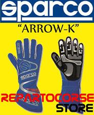 Sparco 00253207az Guanti Kart Arrow 9.0 Azzurro Taglia 7