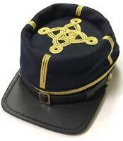 CIVIL WAR US UNION LT. COLONEL MAJOR OFFICER WOOL KEPI FORAGE CAP HAT-XLARGE