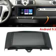 9' Android 9.1 Car Stereo Radio Gps Navigation 1+16G For Smart Fortwo 2011-2014