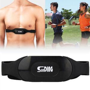 SUNDING Wireless Heart Rate Sensor Monitor Sport Chest Strap Belt GYM
