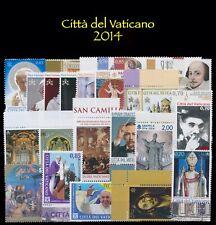 2014 Città del Vaticano Annata completa MNH