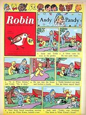 ROBIN - 17th OCTOBER 1959 (12 - 18 Oct) - YOUR WEEK OF BIRTH ?? VG+..beano dandy