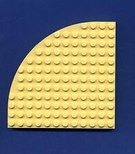 Lego--6162--Ecke rund -- Gelb/LtYellow--12 x 12--Belville--Ersatzteil--5890-