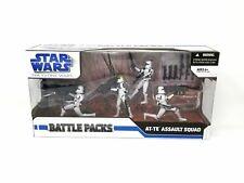 STAR WARS AT-TE Assault Squad Battle Packs MIB