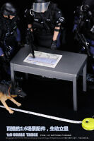 """1/6 Scale Furniture Table Desk + chair for 12"""" Action Figure Solider Doll Custom"""