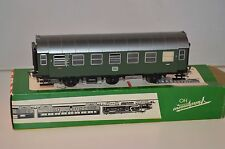 Fleischmann 3 acher Conversion wagon 87935 2.kl. Helles Roof Nür DB as new boxed