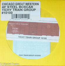 Tichy Train Group #10100 Decal for:Chicago Great Western 40' Single-Door Boxcar