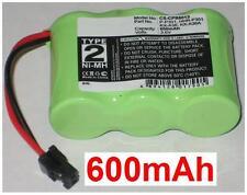 Batterie KX-A36 KX-A36A P-P301 HHR-P301  600mAh Pour Panasonic KX-A36A