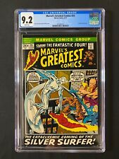 Marvel's Greatest Comics #35 CGC 9.2 (1972) - Silver Surfer cover