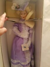 Anne Porcelain Doll 150th Anniversary Smithsonian Inst.  Designed Susan Sirkis