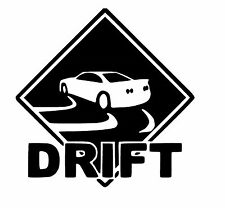 Drift vinyl car Decal / Sticker