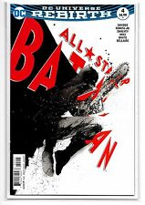 ALL-STAR BATMAN REBIRTH #4 - Jock Variant - Cardstock Cover - DC Comics!