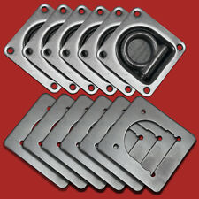 6x ZURRMULDE MIT GEGENPLATTE 800daN/kg Zurröse für PKW-Anhänger Ladungssicherung