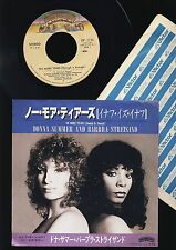 Donna Summer and Barbra Streisand - No More Tears  - Lucky  - JAPAN