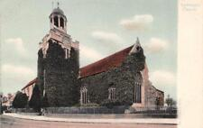 LYMINGTON, Hampshire UK England CHURCH OF ST THOMAS THE APOSTLE c1910's Postcard