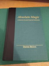 Derren Brown's Absolute Magic, excellent shape