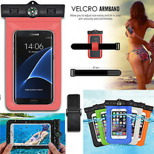 Sealed Phone Mobile Swimming Water pouch Case Cover 100% Waterproof Bag Sleeve