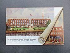 Original Advertising Postcard Huntley & Palmers Biscuits Factory / Works Reading