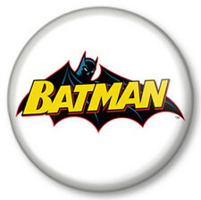 "Batman Retro (1) 25mm 1"" Pin Button Badge Superhero DC Comics Bruce Wayne Gotham"