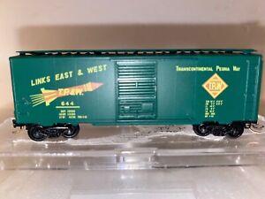 N Scale- Kadee - Transcontinental Peoria Way (TP&W) Single Door Boxcar #644 N885