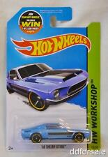 1968 Shelby GT500 Mustang 1/64 Die-cast Model From HW Workshop by Hot Wheels