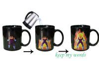New Gift Vegeta Super saiyan Dragon Ball Z Heat color change coffee Mug cup Hot