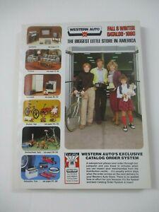 VINTAGE Western Auto 1980 FALL WINTER  CATALOG ESTATE FIND