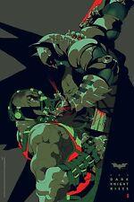 Tomer Hanuka The Dark Knight Rises Batman poster print limited edition