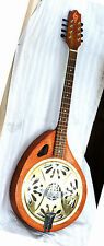 "HYDEMADE CUSTOM RESONATOR OCTAVE MANDOLIN / 9"" BEARD SPIDER CONE WITH SOUND WELL"