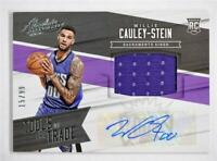 2015-16 Absolute Tools of the Trade Rookie 8 Willie Cauley-Stein Auto Jersey /99