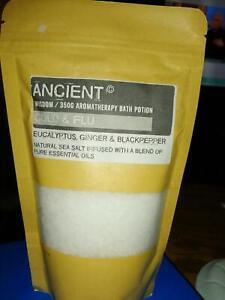 ANCIENT WISDOM AROMATHERAPY BATH POTIONS