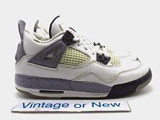 Nike Air Jordan IV 4 White Cement Retro GS 2012 sz 4Y