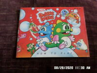 Bubble Bobble (NES Nintendo) Instruction Manual Booklet Only.. NO GAME