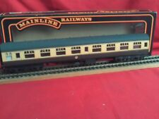 MAINLINE 37-105 BR.(W.R.) SK CHOCOLATE/CREAM 2ND CLASS COACH IN BOX EXCELLENT