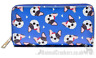 Ladies French Bulldog Purse Wallet zipped multi compartment Frenchie lover gift
