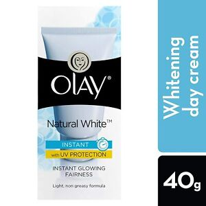 Olay Natural White Light Instant Glowing Fairness Cream With UV Protection, 40g