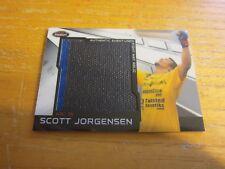 Scott Jorgensen 2011 Finest UFC Jumbo Fight Mat Relics #MRSJ WEC 35 Relic MMA