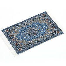 Blue Starry Night Carpet For 1/12 Dollhouse Miniature Toy House Decor Kids #new