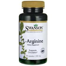 Swanson L-Arginine 500mg 100 capsules