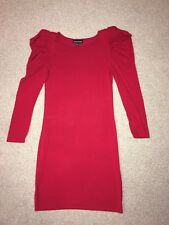 Warehouse Dress Size 8 Red