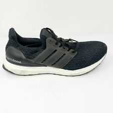 Adidas Womens Ultra Boost 3.0 S80682 Core Black Running Shoes Lace Up Size 9.5